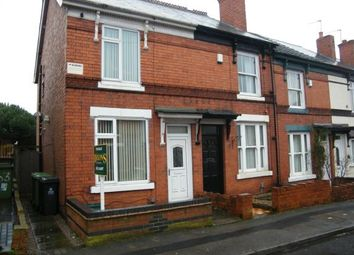 Thumbnail 2 bed end terrace house for sale in King Edward Street, Wednesbury, West Midlands