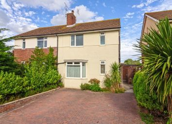 Thumbnail 3 bed semi-detached house for sale in Colebrook Close, Worthing