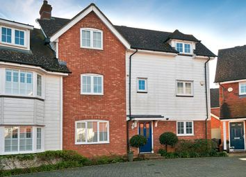 Thumbnail 3 bed town house for sale in Orient Court, Kings Hill, West Malling