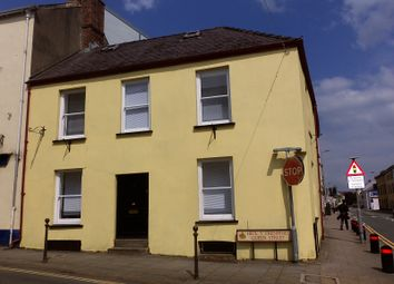 Thumbnail End terrace house to rent in Queen Street, Carmarthen, Carmarthenshire.