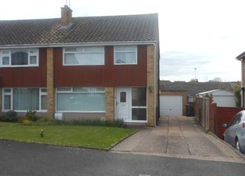 Thumbnail 3 bed semi-detached house to rent in Elgar Close, Exeter