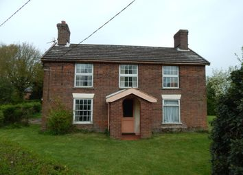 Thumbnail 4 bed detached house for sale in Ashleigh Farm, Wood Lane, Pulham Market, Diss, Norfolk