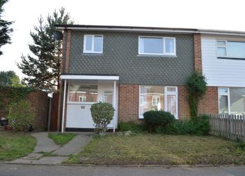 Thumbnail 2 bed semi-detached house for sale in Bearwood, Bournemouth, Dorset