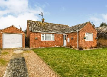 Thumbnail 2 bed detached bungalow for sale in Woodside Avenue, Heacham, King's Lynn