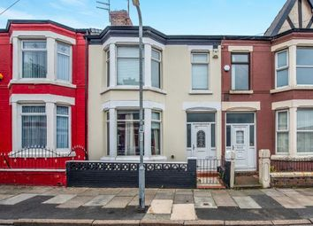 Thumbnail 4 bed terraced house for sale in Guernsey Road, Liverpool, Merseyside