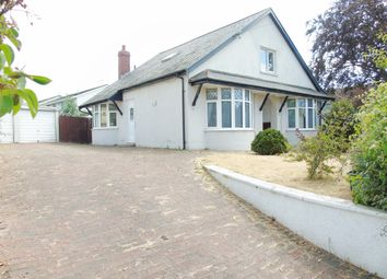 Thumbnail 4 bedroom detached bungalow for sale in Pontypridd Road, Barry