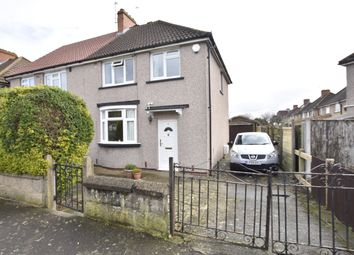Thumbnail 3 bed semi-detached house for sale in Lancing Road, Feltham, Middlesex