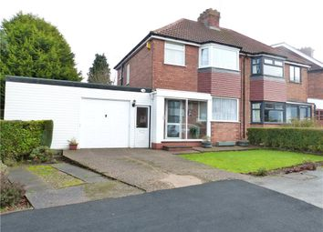 Thumbnail 3 bedroom semi-detached house for sale in Dell Road, Kings Norton, West Midlands
