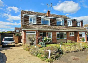 Thumbnail 3 bed semi-detached house for sale in Send Marsh, Ripley, Surrey