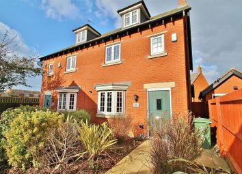 Thumbnail 3 bed semi-detached house for sale in Greetham Way, Syston, Leicestershire