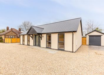 Thumbnail 3 bed detached bungalow for sale in Grantham Road, Waddington, Lincoln