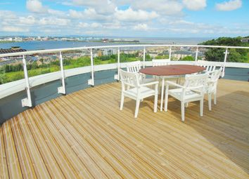 Thumbnail 4 bedroom end terrace house for sale in Trem Elai, Penarth Heights, Penarth