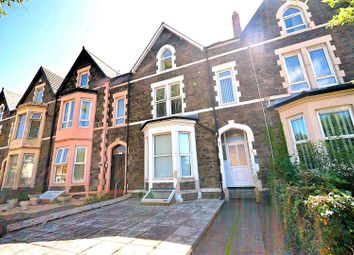 Thumbnail 5 bed terraced house for sale in Newport Road, Roath, Cardiff