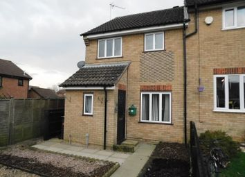Thumbnail 3 bed end terrace house for sale in Flatford Close, Stowmarket