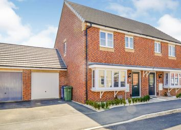 Thumbnail 3 bed semi-detached house for sale in Dandelion Drive, Whittlesey, Peterborough