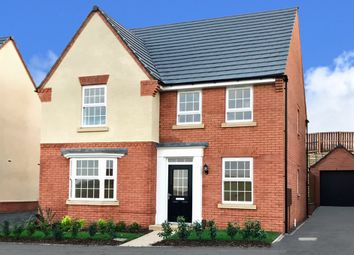 """Thumbnail 4 bedroom detached house for sale in """"Holden"""" at Atherstone Road, Measham, Swadlincote"""