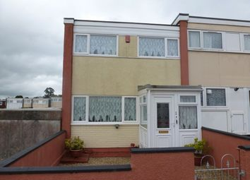 Thumbnail 3 bedroom end terrace house for sale in Radcliffe Close, Plymouth