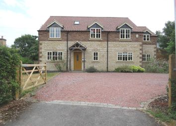 Thumbnail 4 bed detached bungalow for sale in Rectory Lane, Barrowby, Grantham