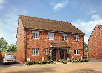 "Thumbnail 3 bedroom semi-detached house for sale in ""The Mulberry"" at Forge Wood, Crawley"