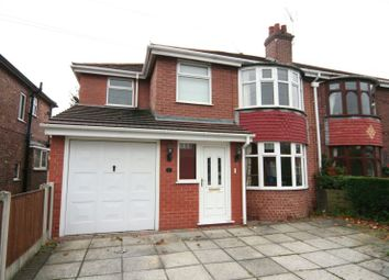 Thumbnail 4 bed semi-detached house to rent in St. Georges Crescent, Timperley, Altrincham