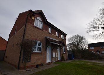 Thumbnail 2 bed semi-detached house for sale in Hedgebank Court, Oakwood, Derby