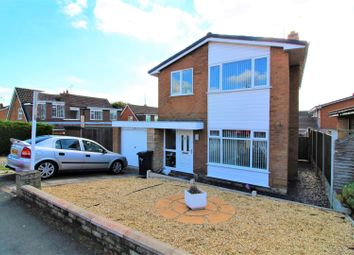 Thumbnail 3 bed detached house for sale in Heol Fammau, Mold