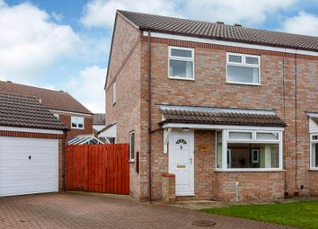 Thumbnail 3 bed semi-detached house for sale in Bishopsgarth, Northallerton, North Yorkshire