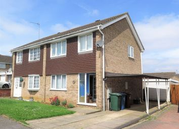 Thumbnail 3 bed semi-detached house for sale in Grebe Road, Banbury