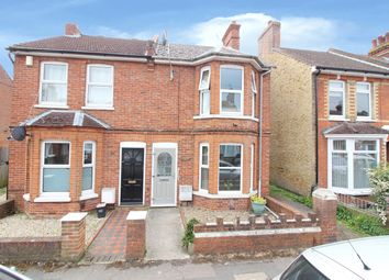Thumbnail 3 bed semi-detached house for sale in Christchurch Road, Ashford, Kent