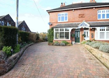 Thumbnail 3 bed semi-detached house for sale in Hollow Lane, Cheddleton, Leek