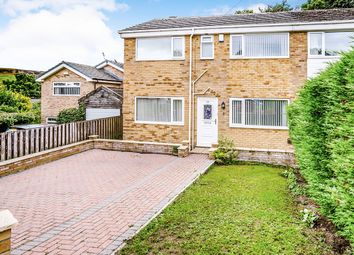 Thumbnail 4 bed semi-detached house for sale in Round Hill, Halifax