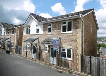 Thumbnail 2 bedroom semi-detached house for sale in Brynmorgrug, Pontardawe, Swansea.
