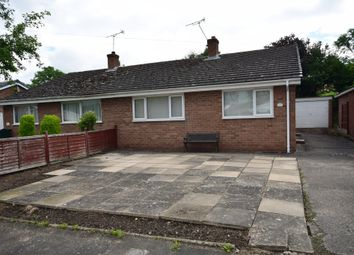 Thumbnail 2 bed semi-detached bungalow for sale in Inveresk Road, Tilston, Malpas
