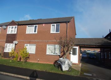 Thumbnail 2 bed flat for sale in Falcons Way, Shrewsbury