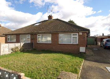 Thumbnail 3 bedroom bungalow for sale in Longfields Road, Thorpe St Andrew, Norwich