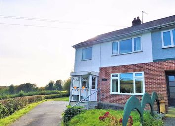 Thumbnail 2 bed semi-detached house for sale in Llanfarian, Aberystwyth