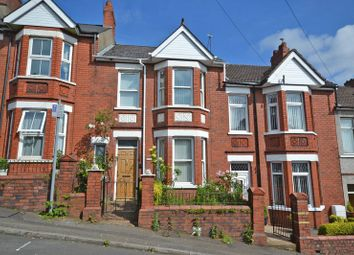 Thumbnail 3 bed terraced house for sale in Spacious Period House, Batchelor Road, Newport