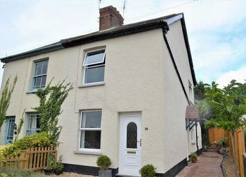 Thumbnail 2 bed semi-detached house to rent in Hele Road, Bradninch, Exeter