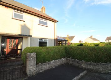 Thumbnail 3 bed semi-detached house for sale in Treflan, Pwllheli