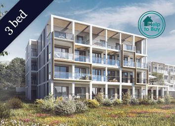 Thumbnail 3 bed flat for sale in Plot 34, The Dice, St Andrew's Park, Uxbridge