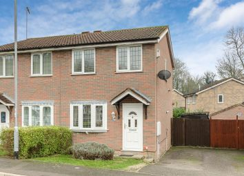 Thumbnail 2 bed semi-detached house for sale in East Bank, Abington, Northampton