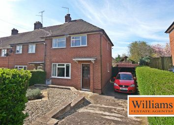 Thumbnail 2 bed semi-detached house for sale in Princess Avenue, Holmer, Hereford