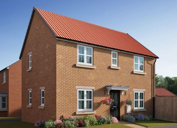 "Thumbnail 3 bedroom semi-detached house for sale in ""The Mountford"" at Coventry Road, Cawston, Rugby"