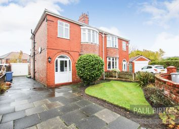 Thumbnail 3 bed semi-detached house for sale in Melfort Avenue, Stretford, Manchester