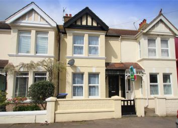 Thumbnail 3 bed terraced house for sale in Cecil Road, Lancing, West Sussex