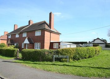 Thumbnail 3 bed semi-detached house for sale in The Crescent, Eccleshall, Stafford