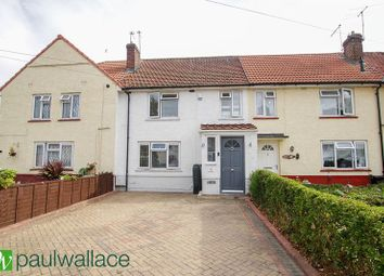 Thumbnail 3 bed terraced house for sale in Franklin Avenue, Cheshunt, Waltham Cross