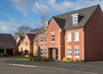 "Thumbnail 5 bed detached house for sale in ""Lichfield"" at Warkton Lane, Barton Seagrave, Kettering"