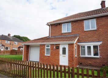 Thumbnail 3 bed semi-detached house for sale in Fern Drive, Cramlington