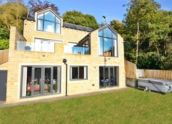 Thumbnail 5 bed detached house for sale in Coldhill Lane, New Mill, Holmfirth, West Yorkshire